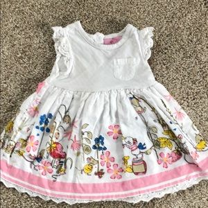 🌸🐭♥️ Adorable baby girl mouse dress 🐭 ♥️🌸